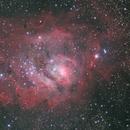 Lagoon Nebula (M8),                                KojiTajima