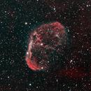 Crescent Nebula,                                gfryhof
