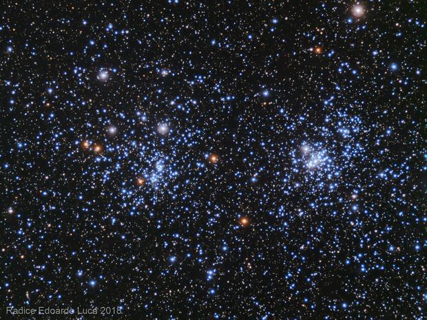 A Fast double cluster,                                Edoardo Luca Radi...