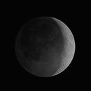Sunshine/Earthshine HDR Moon,                                drivingcat
