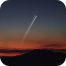 The Moon and the twins Pollux and Castor march to the horizon,                                drcmello