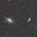 M81 Bode's Galaxy and M82 Cigar Galaxy,                                John Pancoast