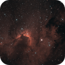 SH2-155 - The Cave Nebula,                                Julien Lana