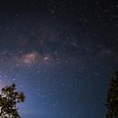 Stacking Via Láctea - Parque Estadual Terra Ronca - GO,                                AstroProjectBrazil©