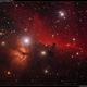 Horsehead and Flame Nebulas,                                Roger Groom