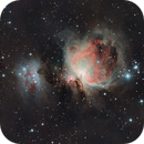 The Orion Nebula with Running Man,                                vt_programmer