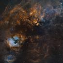 Cygnus Mosaic in SHO,                                Ciaran