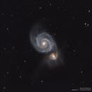 M51 - Whirlpool Galaxy,                                Michel Makhlouta