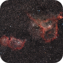 IC1805 - IC1848 - widefield 135mm,                                Álmos Balási