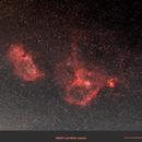 Heart and Soul Nebula samyang 135 mm,                                Nina1955