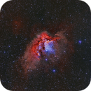 Wizard / Flying Horse Nebula Ha OIII RGB,                                Göran Nilsson