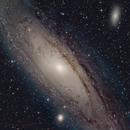 M31 Andromeda Galaxy,                                Serge Caballero