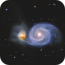 Messier 51, Whirlpool-Galaxie,                                Big_Dipper