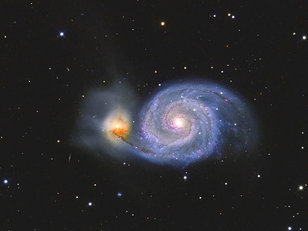 Messier 51, Whirlpool-Galaxie,                                Big_Dipper