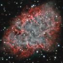 Crab Nebula (time-lapse movie 2008-2020),                                DetlefHartmann