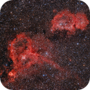 IC1805 and IC1848 - The Heart and Soul Nebulae,                                Santiago Rodrígue...