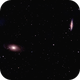 Bode's and Cigar galaxies (M81, M82),                                Andrew Gutierrez