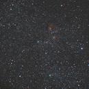 Nebuleuse de l'Etoile Flamboyante IC405,                                Freddu33