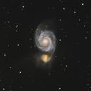 Whirlpool Galaxy,                                Nikkolai Davenport