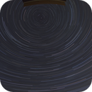 Startrails Widefield - from the horizon to the North Star,                                alphaastro (Rüdiger)