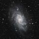 M33 - Triangulum Galaxy - Pixinsight version,                                Rhinottw