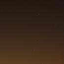 Orion - Light Pollution @ Wiener Neustadt,                                Anton Karl Seewald-Czeczelich