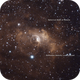 NGC7635 Double Bubble (Potential New Reflection Nebula),                                GW