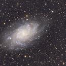 M33 from mountain cabin,                                Scott Denning