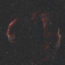 Veil Nebula,                                Ou Mingzhi