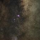 Lagoon Nebula Widefield (Reprocessed),                                sumrandom