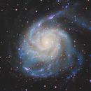 Pinwheel Galaxy,                                zara