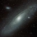 Galaxie d'Andromède,                                William Guyot-Lénat