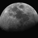 Moon 2021-10-15 with Lum filter,                                KiwiAstro
