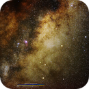 Milky Way Core,                                Sergio Emilio Mon...