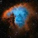 NGC-281 The Pacman Nebula,                                Earl Hebert