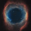 NGC 7293 Helix Nebula 20200818 1800s SHO 01.4.3,                                Allan Alaoui