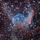 NGC2359-LLRGB-Thor's Helmet in Canis Major,                                LazyLightning