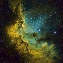 NGC 7380, The Wizard Nebula,                                Mark Wetzel