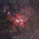 Eta Carinae Nebula with 200mm lens.,                                Marcelo Alves