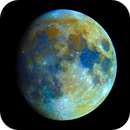 Very colorful moon,                                Jaehyun Oh
