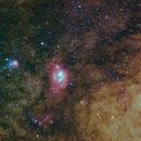 Sagittarius wide field,                                Richard Muhlack
