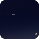 Moon, Jupiter + Saturn,                                AC1000