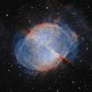 M27 - Dumbbell Nebula,                                David Schlaudt