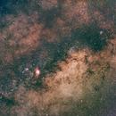 Milkyway (with Lagoon Nebula),                                Dren