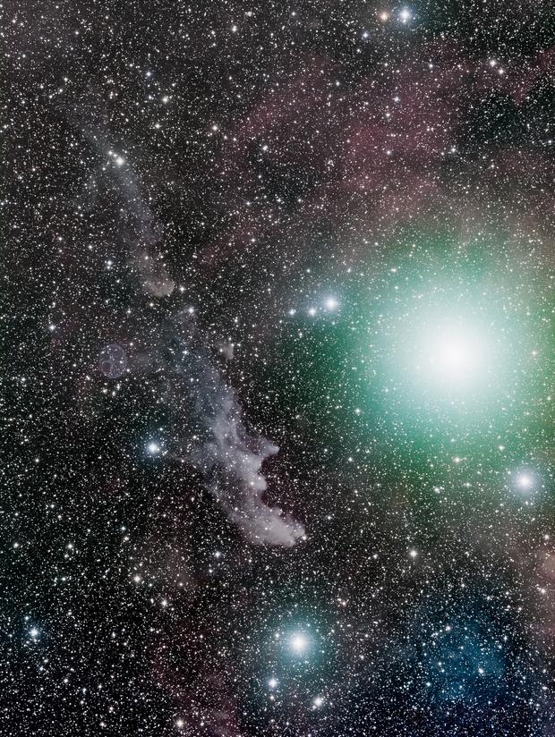 Witch Nebula / IC2118 and Rigel,                                Rob