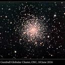 M12, Gumball Globular Cluster, OSC, 18 June 2016,                                David Dearden