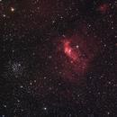 NGC 7635 Bubble Nebel,                                astrofriends