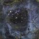 NGC 2244, the center of Rosette in SHO,                                Erik Guneriussen