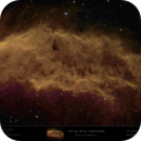 NGC 1499 - California Nebula in SHO,                                Uwe Deutermann
