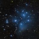 M45 Pléyades Cluster,                                Michel Lakos M.